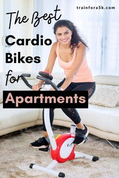 Unlike treadmills, and other exercise equipment, a spin cycle is an ideal machine for small enclosed areas. Apartments, being somewhat cramped by their very nature, require a machine that adapts to tiny geometry. We are here to take a look best indoor bikes for small apartments out there. The criteria we employed, in our search for those jewels, is that they must meet the following requirements: Easy To Assemble, Indoor Use, Durable, Comfortable and Small Space Friendly. Read our reviews! 5k Training Plan, Strength Training For Runners, Indoor Cycling Bike, Winter Running, Spinning Workout, Spin Bikes, Treadmills, Best Cardio, Exercise Equipment