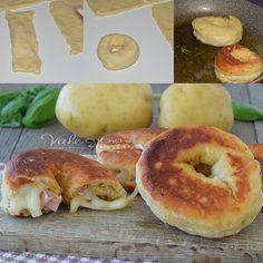 Buñuelos rellenos salados