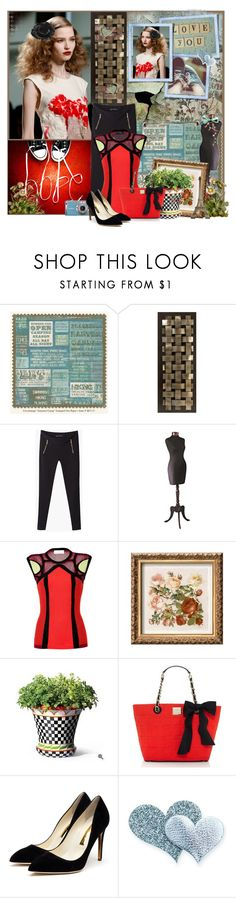 """""""Hopelessly Devoted To You........."""" by nz-carla ❤ liked on Polyvore featuring WALL, Panasonic, DIVA, Peter Pilotto, POSH, Kate Spade, Rupert Sanderson and Mulberry"""