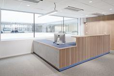 NPRO - Interior architecture project by IARK Reception Areas, Interior Architecture, Divider, Bathtub, Kitchen, Room, Projects, Furniture, Home Decor