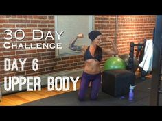 Day 6: Upper Body - Betty Rocker 30 Day Bodyweight Challenge - YouTube