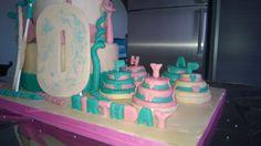 Birthday, compleanno, torta, cakes, Tiffany, Pink, verde acqua, rosa, 30 anni, coriandoli, minicakes, cuori, fiocchi, hearts, ribbon