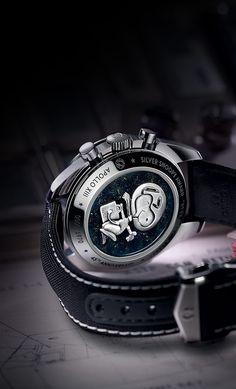 OMEGA Watches: Speedmaster Apollo 13 Silver Snoopy Award