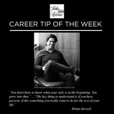 Find your passion, Find your career.  Learn more about opportunities at www.careersatsaks.com #careeradvice