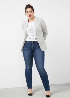 17 Sites For Plus-Size Jeans And Shorts That Are Stylish And Affordable Curvy Outfits, Jean Outfits, Plus Size Outfits, Casual Outfits, Grunge Outfits, Average Size Women, Size 16 Women, Plus Size Womens Clothing, Plus Size Fashion