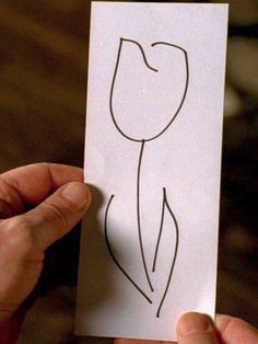 The white tulip from Fringe. Represents forgiveness and hope