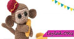 Video anlatımlı amigurumi maymun nasıl yapılır Teddy Bear, Toys, Animals, Amigurumi, Activity Toys, Animales, Animaux, Teddybear, Animal