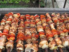 Grilling Recipes, Cooking Recipes, Ratatouille, Bacon, Bbq, Food And Drink, Meat, Chicken, Ethnic Recipes