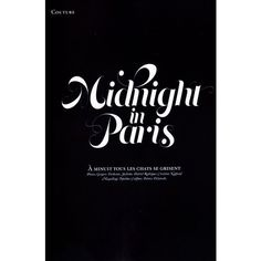 'Midnight in Paris' Réka Ebergényi by Gregory Derkenne for Citizen K... ❤ liked on Polyvore