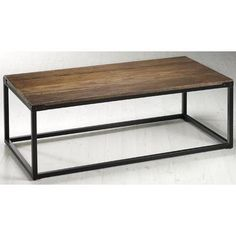 "Brickell Coffee Table - 18""""Hx48""""W, Ant Mtl/Nt Wood"" by Home Decorators Collection $189"