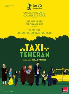 Taxi: A yellow cab is driving through the vibrant and colourful streets of Teheran. Very diverse passengers enter the taxi, each candidly expressing their views while being interviewed by the driver who is no one else but the director Jafar Panahi himself. His camera placed on the dashboard of his mobile film studio captures the spirit of Iranian society through this comedic and dramatic drive…