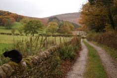 Autumn landscape near Edale, Peak District,  England  photography by cityhopper2