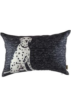 "All of our Beloved Pillow collection are made from 100% certified polyester imported from Italy. Comes with polyester insert pillow.     Measures: 13"" x 20""    Dalmatian Pillow  by Dogolove. Home & Gifts - Home Decor - Pillows & Throws California"