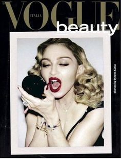 Madonna - Vogue Beauty Italy Magazine (February 2017)