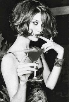 Cocktails and the perfect bob.