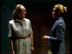 """Inmate """"Janet Dominguez""""(Pictured left). Played by actress Deirdre Rubenstein"""