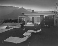 Julius Shulman Kaufmann house, Palm Springs