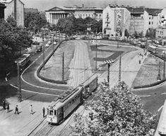 Ilyen is volt Budapest - évek, Kálvin tér Old Pictures, Old Photos, Historical Photos, Hungary, Budapest, Tao, Arch, Street View, History