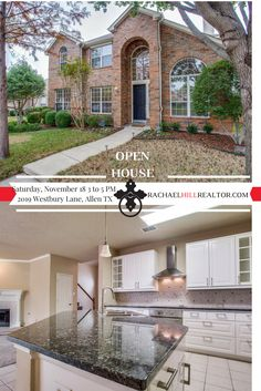 OPEN HOUSE:  Saturday, November 18 from 3:00 to 5:00 PM