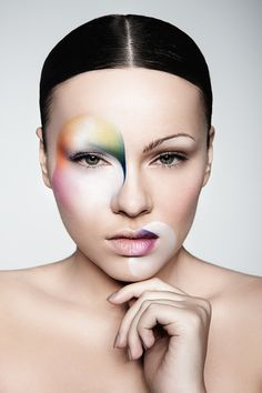 "Amazing ""spots"" of makeup....cool photoshoot idea"