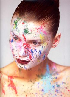 Spattered paint - all over the place