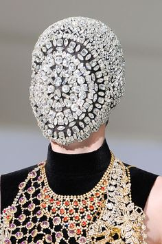 Maison Martin Margiela HC Fall 2012. Very weird.