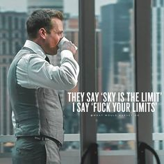 322 Likes, 0 Comments - Harvey Specter Gabriel Macht, Boss Quotes, Me Quotes, Qoutes, Motivational Quotes For Success, Inspirational Quotes, Motivation Quotes, Harvey Specter Suits, Gentleman Quotes