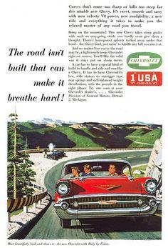 Chevrolet, 1957.