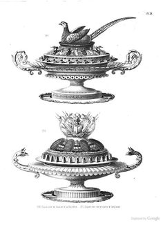 From 'Artistic cookery: a practical system suited for the use of the nobility and gentry, and for public entertainments', by Urbain Dubois (London, 1870)