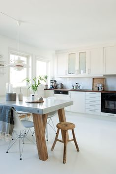 Lunt and contrastingly townhouse in Nordic style | Boligpluss.no