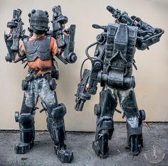 "Battle exoskeleton Inspired by ""Edge of tomorrow"" #larporatory #nerf #exoskeleton #cosplay #larp #evafoam #craft #edgeoftomorrow #lprops #костюмы #бутафория #реквизит"