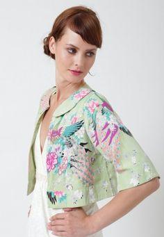gorgeous new swing jacket at Uttam