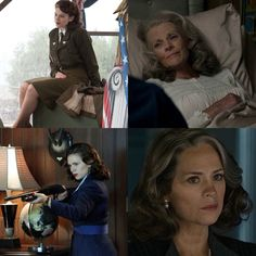 ( Peggy Carter) Hayley Atwell in the movies Captain America: The First Avenger, Captain America: The Winter Soldier, and AntMan. Also the TV show Agent Carter