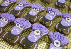 Evil Minion cookies | Cookie Connection