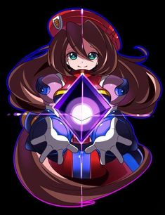 I feel really sad for Iris right now. Mega Man, Maverick Hunter, Megaman Zero, Megaman Series, Fighting Robots, Robots Characters, Akira, Futuristic Art, Character Concept