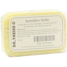 DR.THEISS Kamillen Seife:   Packungsinhalt: 100 g Seife PZN: 03510368 Hersteller: Dr. Theiss Naturwaren GmbH Preis: 1,65 EUR inkl. 19 %…