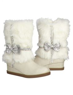 Fur Shaft Boots..Justice for girls