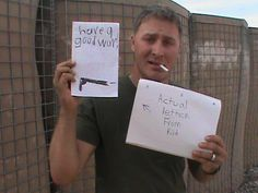 What do I write to a soldier?