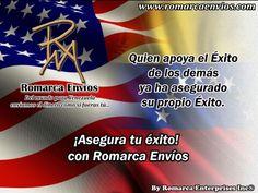 ¡Asegura tu éxito con #RomarcaEnvios! #EnvioDeDinero