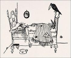 'Die kleine Hexe' v. Otfried Preußler (1957); Illust.v. Winnie Gebhardt-Gayler (* 1929; † 2014)