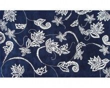 Rug Market Henna Navy Blue/Ivory Area Rug -The Rug Market - Home and Patio Decor Center