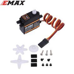 4x EMAX ES3103E 17g Plastic Analog Servo For RC Helicopter Boat Airplane (ES08A ES08MA ES08MD wholesale)