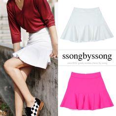 Spare House Frill Flare Mini Skirt