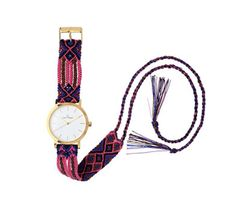 The recreation of friendship bracelets by Toy Watch