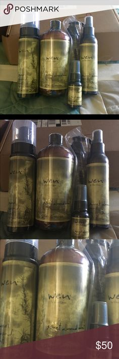 Wen Healthy Hair Care System Entire WEN Healthy Hair Care System by Chaz Dean new in the box unopened . This system has helped my hair become very healthy , bouncy , and beautiful . I started using this in 2009 after an extremely bad event that damaged my hair so badly it was falling out and breaking off in clumps. I have this on auto ship and I am unable to use all the product before the next shipment, I just changed the auto ship dates but still have this extra box and want someone to have…