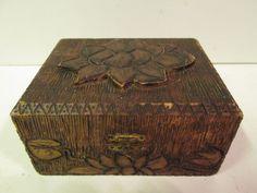 ANTIQUE JEWELRY BOX #Unbranded