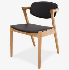 Solid wood dining chair from Huateng Furniture