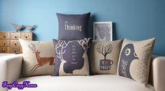 Throw pillow/Pillow cover/Decorative throw pillow/Throw cushion/Cushion cover/Pillowcase/Decorative pillow cover/scatter cushion, London