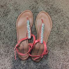 cute madden girl sandals! super cute almost no wear! Madden Girl Shoes Sandals