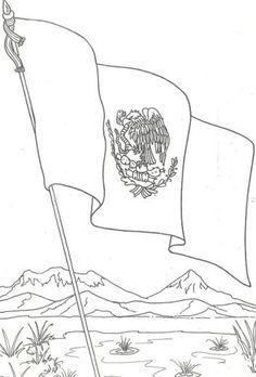 Bandera De Mexico Chida Para Colorear Ideas Para El Hogar Mexico